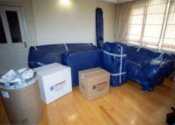 Ambalajlama tamamladıktan sonra eşyalarınız özenle nakiye aracına yerleştirilerek taşımaya hazır hale getirilir.